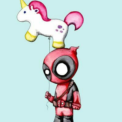Deadpool & Unicorn !