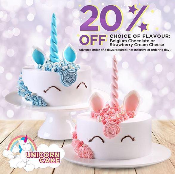 Discount 20  Unicorn Cake At Prima Deli