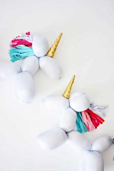 Diy Balloon Stuffed Animal Unicorn » Little Inspiration