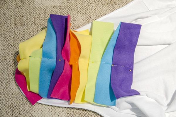 Diy Unicorn Hoodie Costume With Rainbow Tutu