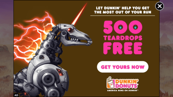 Dunkin' Donuts Keeps You Running In Adult Swim's Robot Unicorn