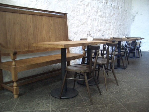 Ercol Stacking Chairs Unicorn Cafe Stirling Castle