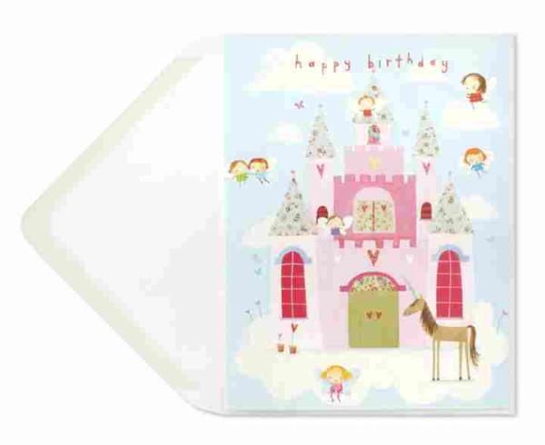 Fairies, Unicorn & Castle