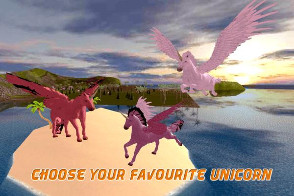 Flying Unicorn Simulator 3d 1 1 Apk Download