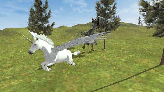 Flying Unicorn Simulator Free   Simulación Juegos En Android