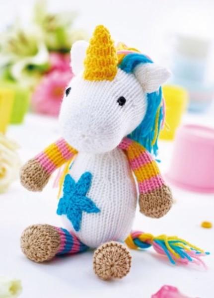 Free Unicorn Knitting Patterns Patterns ⋆ Knitting Bee (4 Free