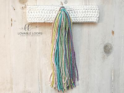 Free Unicorn Tail Crochet Pattern