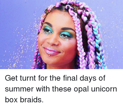 Get Turnt For The Final Days Of Summer With These Opal Unicorn Box