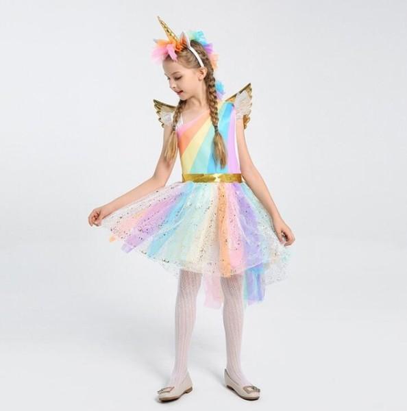 Girls Halloween Costumes Unicorn Costume Girls Dress Princess