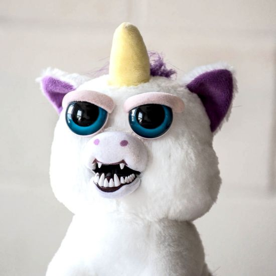 Glenda Glitterpoop  Scary Unicorn Soft Toy From Feisty Pets