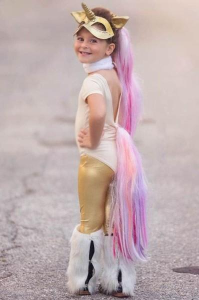 Golden Unicorn Costume