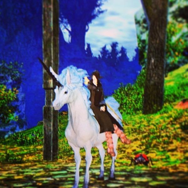 Got My White Mage Job Mount This Morning  Ffxiv  Unicorn