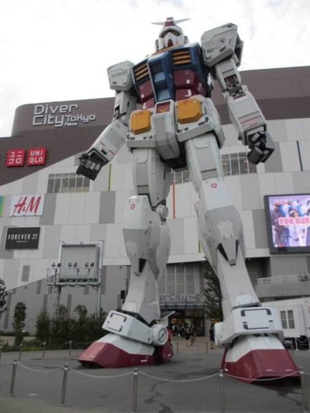 Gundam Unicorn Slated To Replace Odaiba's Life