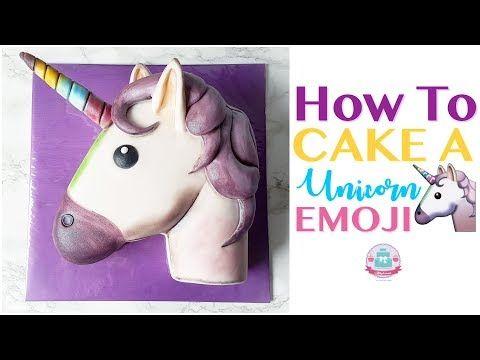 How To Cake A Unicorn Emoji