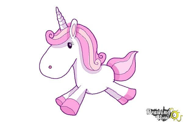 How To Draw A Cute And Simple Unicorn