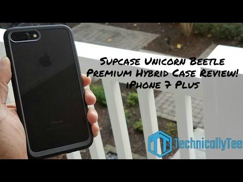 Iphone 7 Plus Supcase Unicorn Beetle Hybrid Case Review!