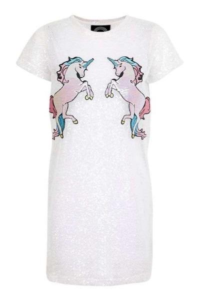 Iridescent Mesh Unicorn Dress By Kuccia