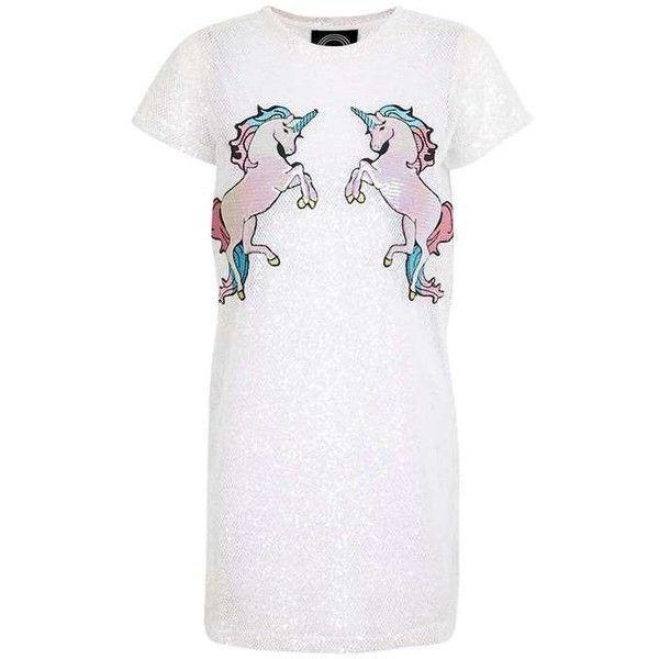 Iridescent Mesh Unicorn Dress By Kuccia (89 Cad) ❤ Liked On