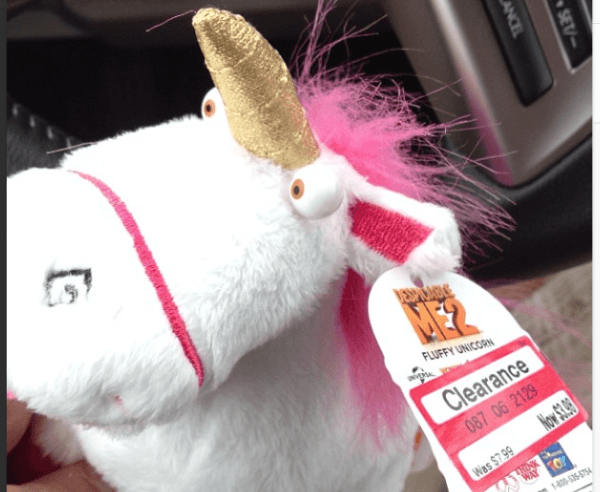 It's So Fluffy Unicorn Despicable Me 2 Toy
