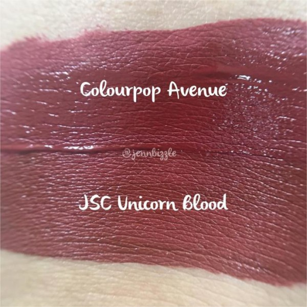 Jeffree Star Unicorn Blood Velour Liquid Lipstick Dupes ($10