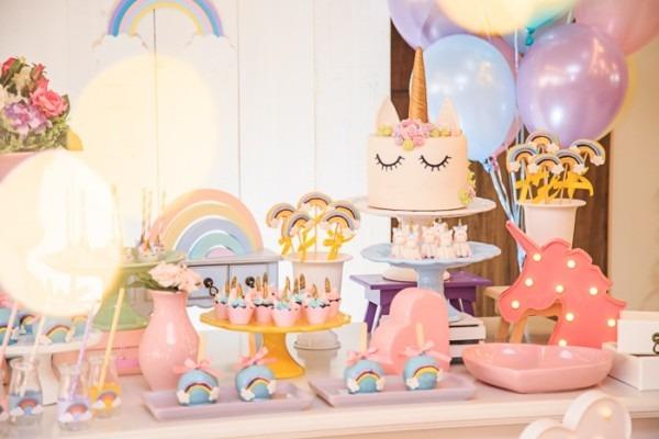 Kara's Party Ideas Pastel Unicorn Birthday Party