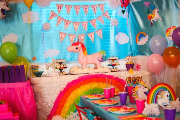 Kara's Party Ideas Rainbow Unicorn Birthday Party