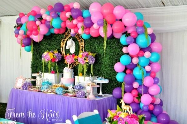 Kara's Party Ideas Vibrant Unicorn Birthday Party
