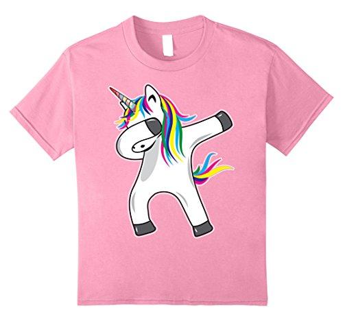 Kids Unicorn Dabbing Novelty T