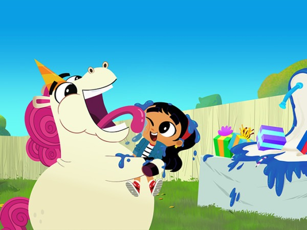 Kidscreen » Archive » Sonar Dives Into Go Away, Unicorn! Production