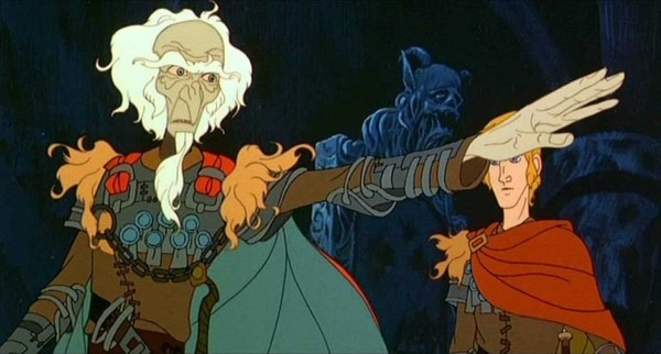 King Haggard And Prince Lir, The Last Unicorn