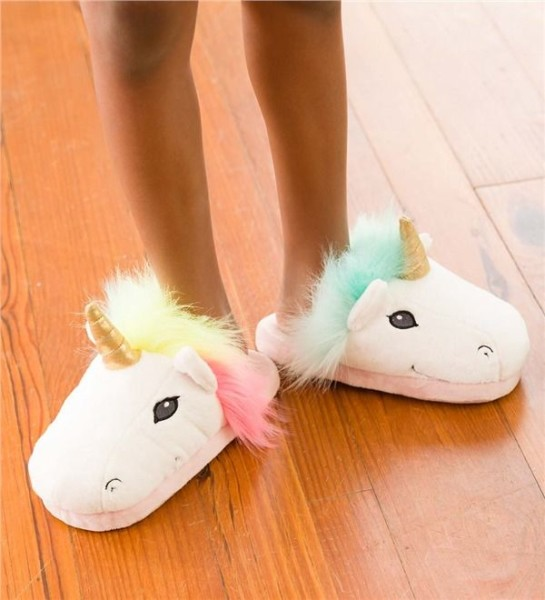Led Light Up Unicorn Slippers From Hearthsong