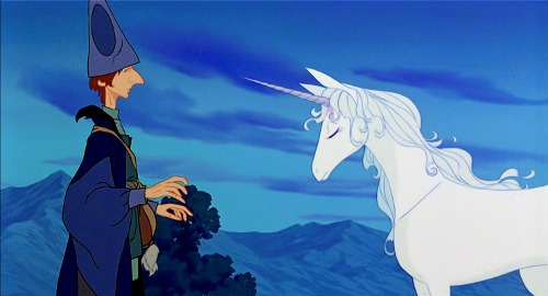 Legendary Writer Peter S  Beagle Takes The Last Unicorn Film On