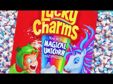 Lucky Charms Adds New Magical Shape To Cereal  Unicorns