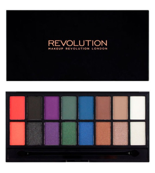 Makeup Revolution Midnight Unicorn Halloween Eyeshadow Palette 16