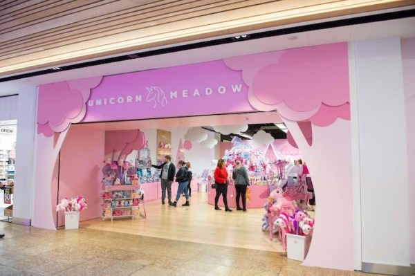 Meadowhall Launches Unicorn Pop