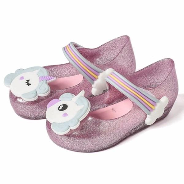 Mini Melissa Unicorn Girls Sandals Jelly Shoes Baby Boys Girls