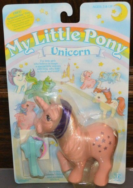 Moc Mib Vintage My Little Pony G1 Unicorn  Twilight ! Rare Vhtf