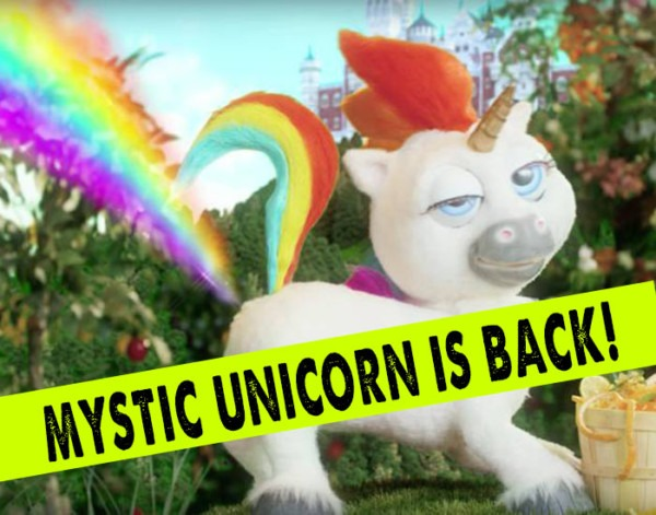Mystic Unicorn Is Back With Hilarious Ad For Unicorn Gold!