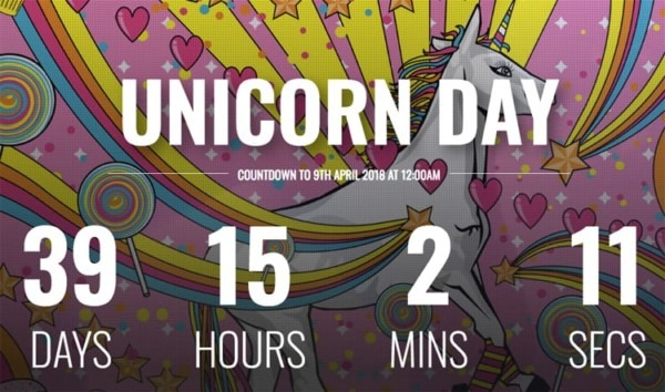 National Unicorn Day 2018