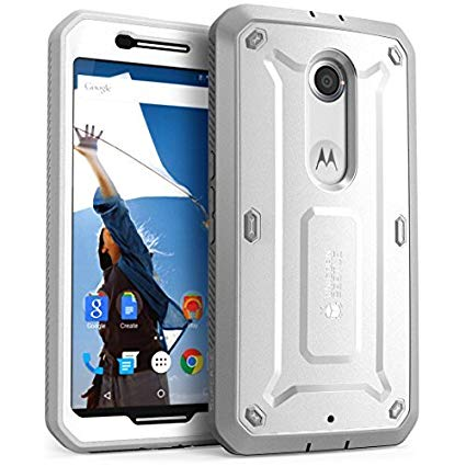 Nexus 6 Case, Supcase [heavy Duty] Belt Clip Holster Case For