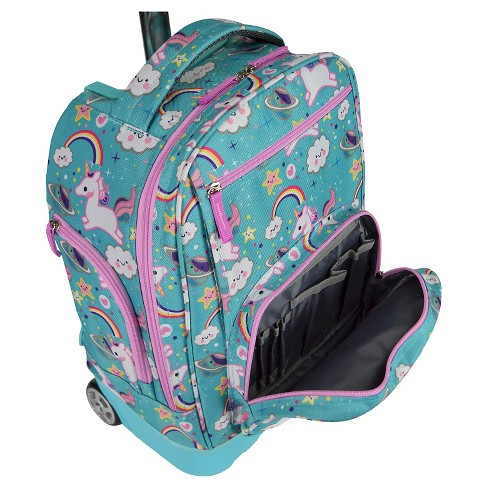 Pacific Gear Treasureland Hybrid Lightweight Rolling Backpack