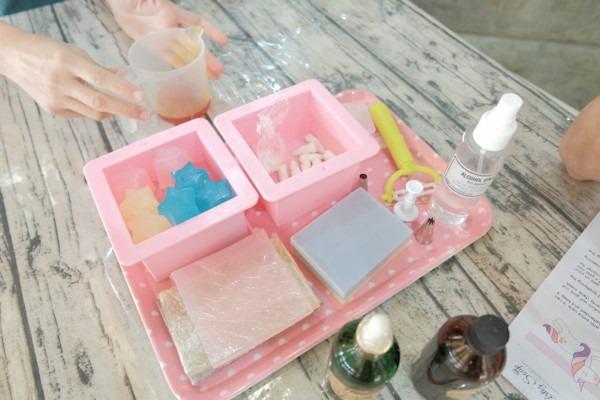 Pastel Unicorn Soap Making Workshop (cold Process) @ Artiz Soap