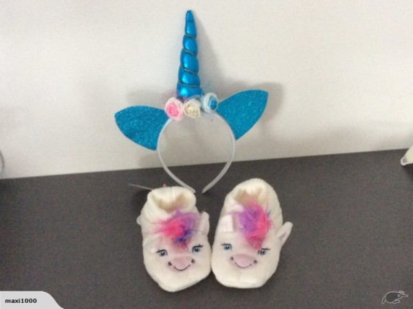 Peter Alexander Unicorn Slippers