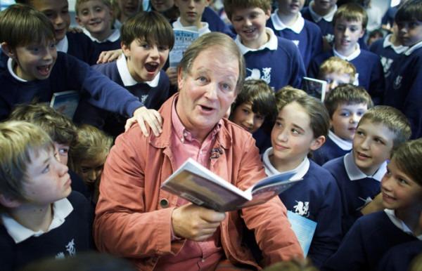Photography Of The Author Michael Morpurgo At The Unicorn School