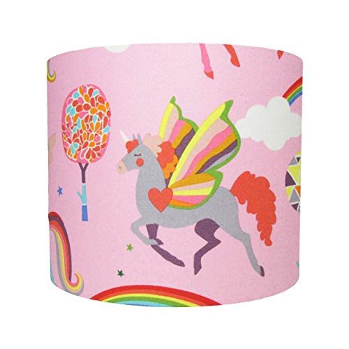 Pink Unicorn Lampshade  Amazon Co Uk  Handmade