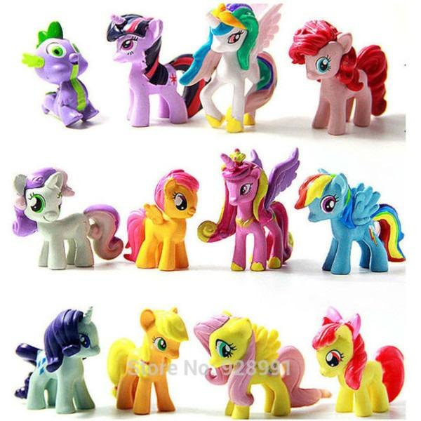 Plastic Horses Toys Filly Princess Celestia Luna Toy Little Horse