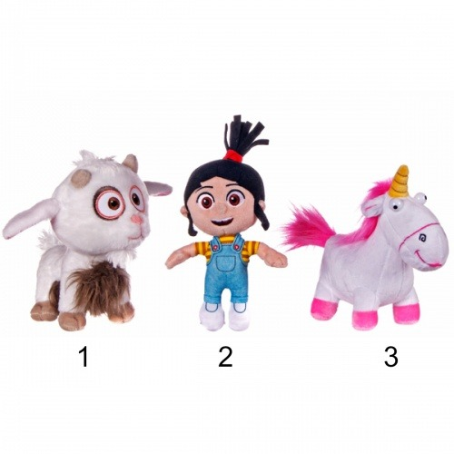 Posh Paws Despicable Me 3 Agnes, Fluffy And Uni