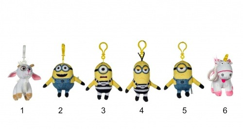 Posh Paws Despicable Me 3 Bag Clips (sold Individually)