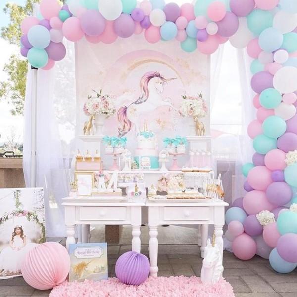 Pretty Pastel Unicorn Birthday Party