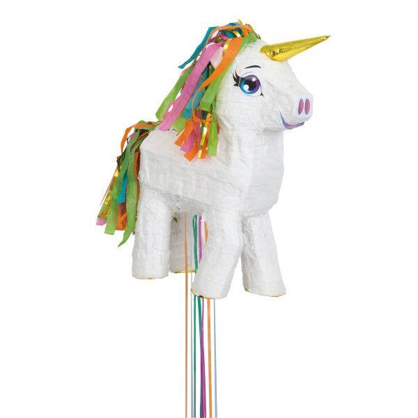 Pull String Unicorn Party Pinata